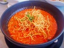 Khao Soi (coconut paste with noodles)
